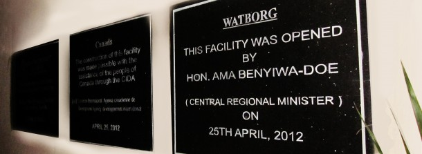 Plaque Of Central Regional Minister