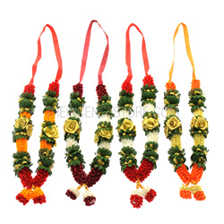 Hopefully these flower wedding garlands are in Gaddam's future! See the original image here.