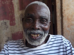 Papa Kojo is happy to see as clearly as a young man again, thanks to our donors!