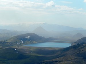 A view of one of our camp areas – Alftavatn.