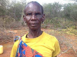 Ann Adoyole has spent years of her life searching for water.