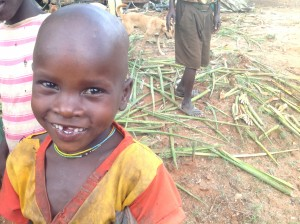 Fresh, clean water brings smiles to all!