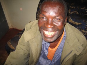 Look at this ecstatic smile! Basson is a happy man, now that he can see again.