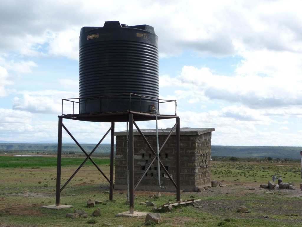 Wells like this one in Ongata Naado, Kenya provide fresh, secure water for cleaning and washing. In addition to preventing the spread of trachoma, improved sanitation aids in the reduction of serious illnesses such as diarrheal diseases, upper-respiratory infections, skin diseases and malaria.