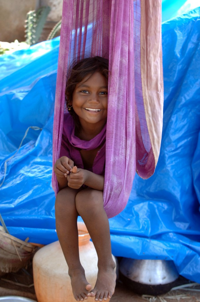 Children like this little girl have bright futures ahead of them, thanks to kind-hearted donors like Murray! Photo by Peter Carrette.