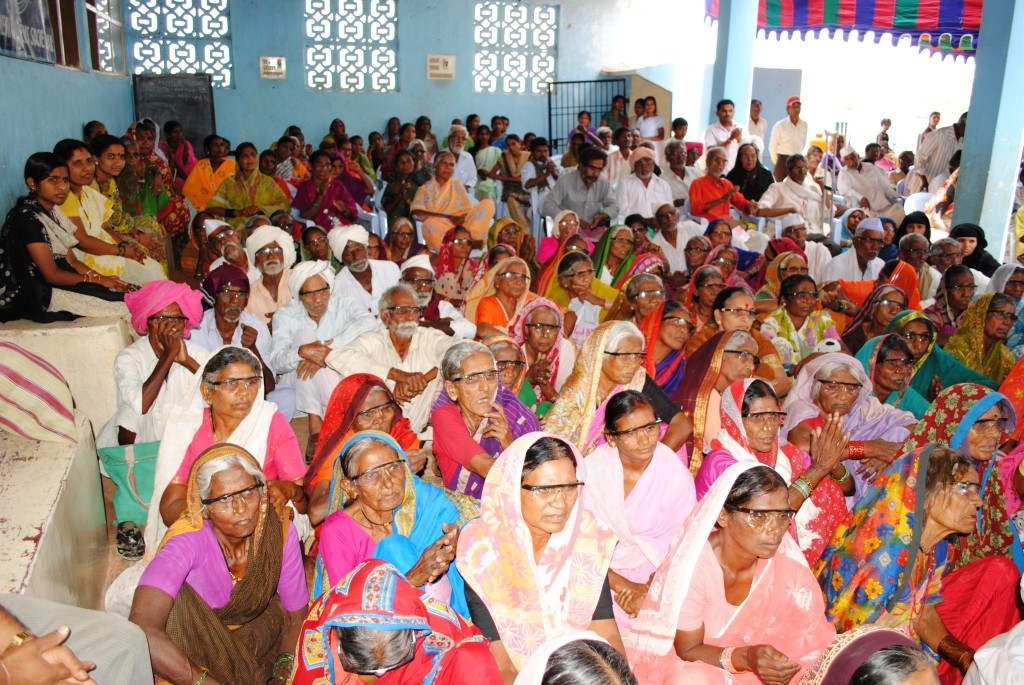 Patients at Dr. Salins Eye Hospital represent a small number of the millions of Indians who lack even basic eye health care.