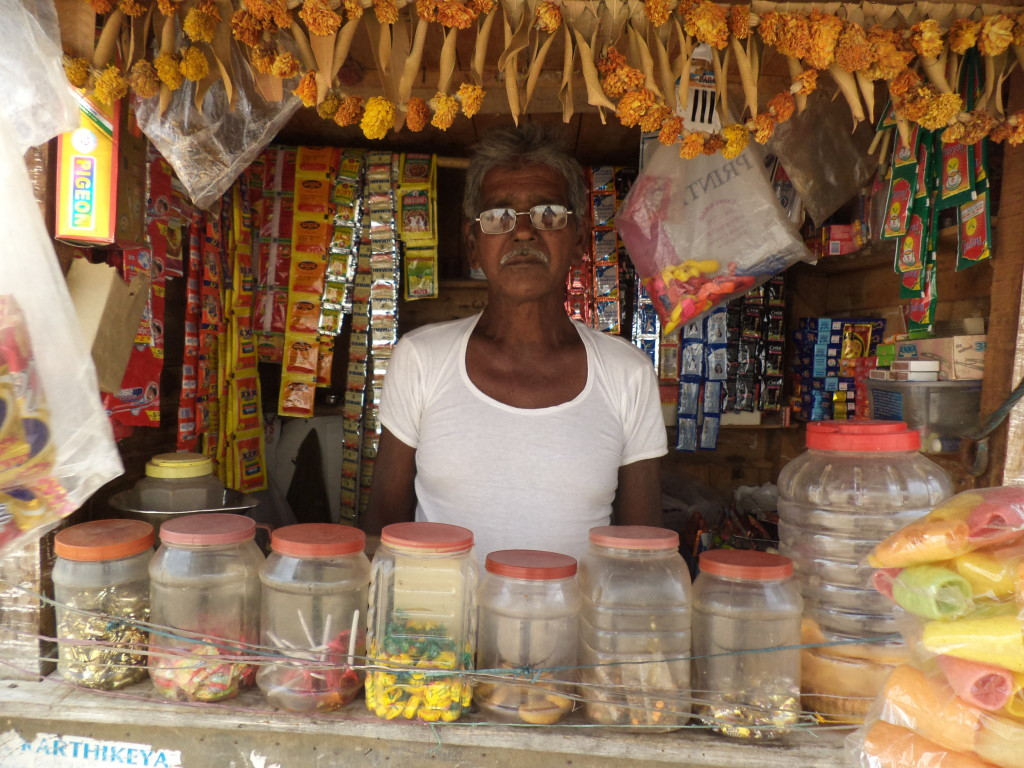 With his eyesight restored, Jungali was able to open a candy store and once again earn an income.