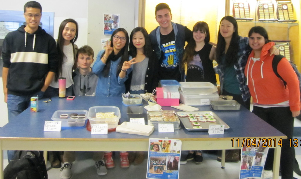 Our first bake sale – a success!