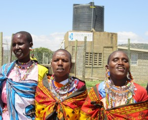 Ngoswani in Narok is just one of many villages where Operation Eyesight has built boreholes. They have a dramatic impact on life and health in the community.