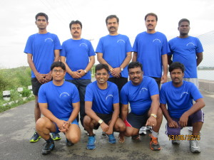 Team India is ready for the Hyderabad Marathon this weekend!