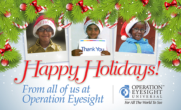 Merry Christmas from Operation Eyesight