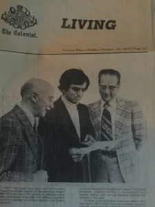 We were thrilled when Hansi shared an old Victoria newspaper clipping showing Dr. Ben and Art! After meeting Dr. Ben and hearing about his work as a physician in India, Art founded Operation Eyesight in 1963.