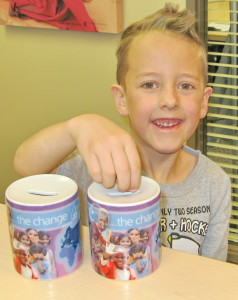 For his last two birthdays, Rourke (now 8 years old) asked his friends for toonies instead of presents. He raised $50 for Operation Eyesight at his Star Wars-themed party last year, and we can't wait to hear how much fun his roller-skating party was this year. Thanks Rourke!